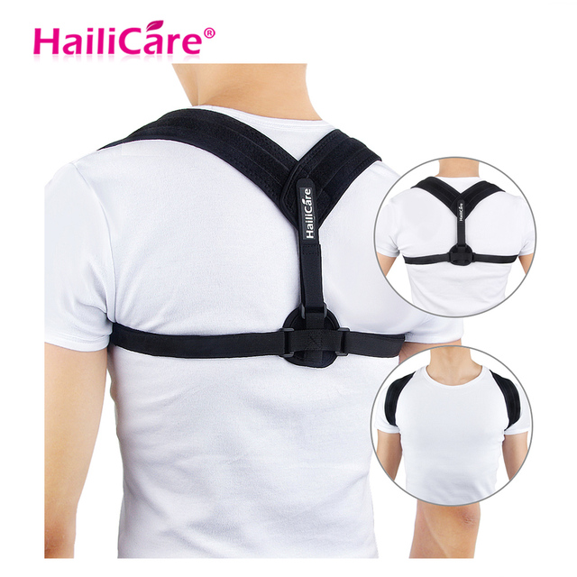 Back Posture Corrector Shoulder Lumbar Brace Spine Support Belt 5