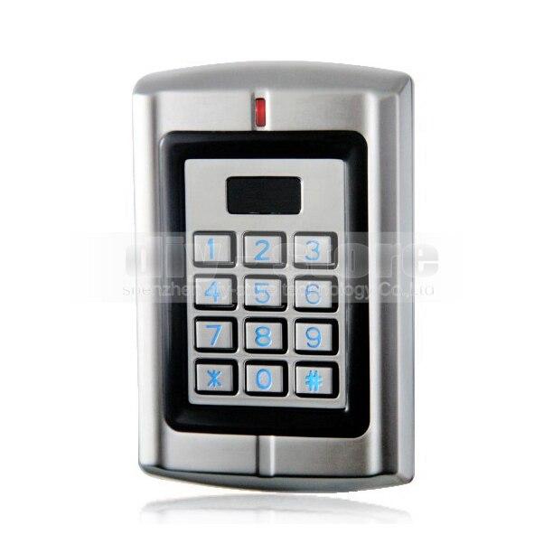 DIYSECUR Waterproof 125KHz RFID Access Control Reader Keypad Control Panel Metal Case High performance W3