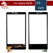 4.5 For Nokia Lumia 920 N920 LCD Touch Screen Digitizer Sensor Outer Glass Lens Panel Replacement 3 5 for nokia n8 n 8 lcd touch screen digitizer sensor outer glass lens panel replacement