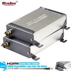 HSV379 HDMI موسع 1080 وعاء 200 متر ضياع لا تأخير HDMI أكثر من واحدة RG59/RG-6U اقناع كابل تمديد ل DVR ، DVD ، المسرح المنزلي
