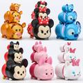 Tsum Mickey Minnie Mini  Mary cat PVC Stacker Birthday gift without retial box 20160722