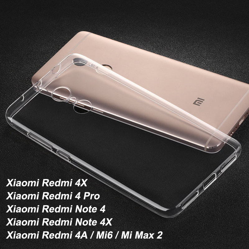 Xiomi Xiaomi Mi5X Case Ultracienki Xiaomi Redmi Note 5A Pro Case For Xiaomi Redmi Note 4 Redmi 4X Pro 4A Case Xiaomi Mi6 Back Case