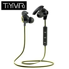 Active Noise Cancelling Sports Bluetooth Earphone Wireless Headset for phones and music
