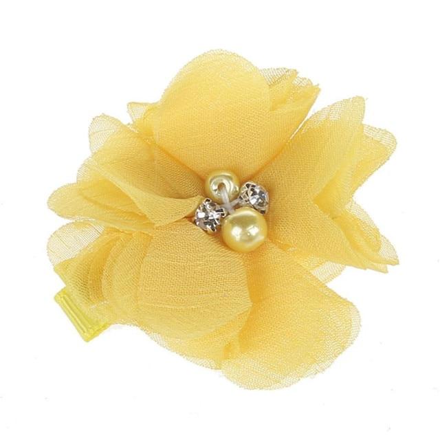 ดอกไม้น่ารักเพิร์ลเด็กสาวเครื่องประดับผมคลิป HairPins อุปกรณ์เสริมสำหรับเด็กเครื่องแต่งกาย to คอสเพลย์เต้นรำและปาร์ตี้ 13