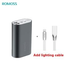 ROMOSS batterie externe 10000mAh ACE10 batterie externe en alliage daluminium batterie externe A10 chargeur pour iphone Huawei Xiaomi iosx