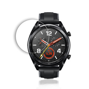 Image 5 - Tempered Glass on for Huawei Watch GT Protective Glass Smartwatch Screen Protector Film Anti Scratch Explosion proof 9H Glas