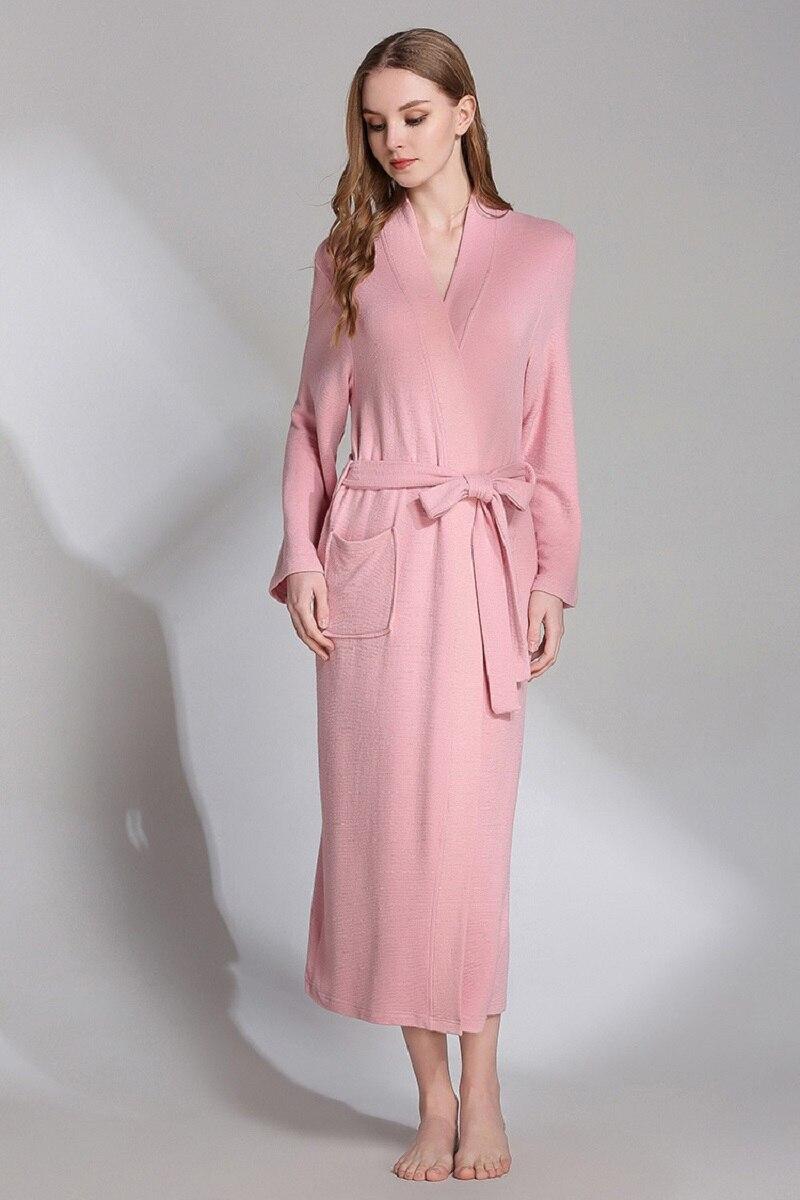 women plus size bathrobes spring (8)