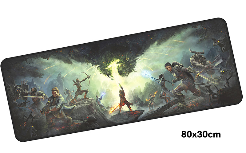 dragon age mouse pad gamer 800x300mm notbook mouse mat large gaming mousepad large Popular pad mouse PC desk padmouse