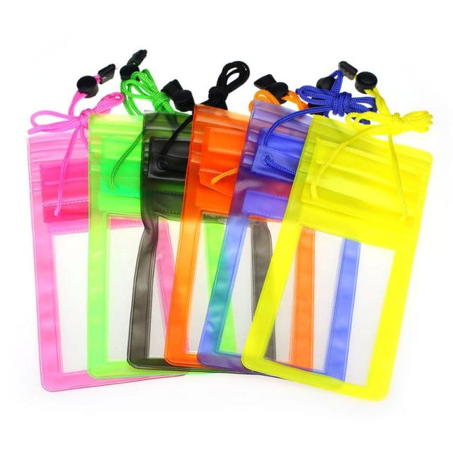 2017 Unique Travel Swimming Waterproof Bag Pouch Cover for 5.5 inch Cell Phone for iPhone for Samsung for HTC for Sony 5.5 Cool