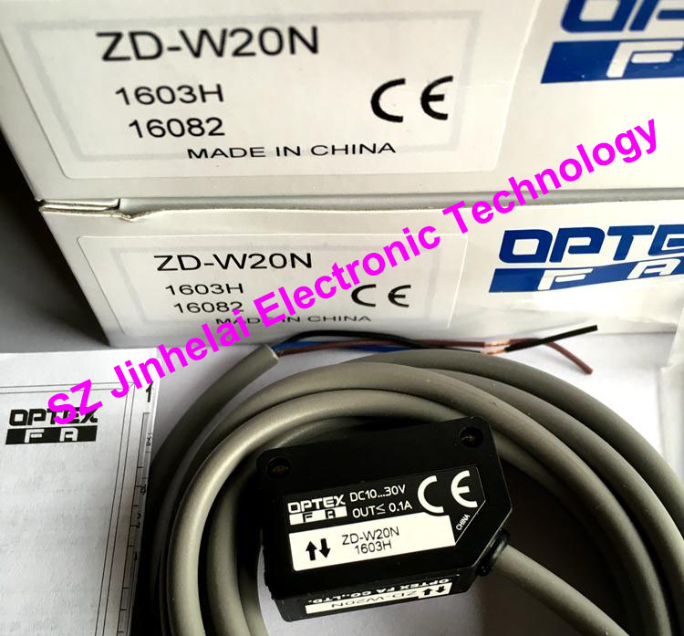 New and original ZD-W20N OPTEX PHOTOELECTRIC SWITCH Photoelectric sensor new and original vd 300 optex photoelectric switch photoelectric sensor