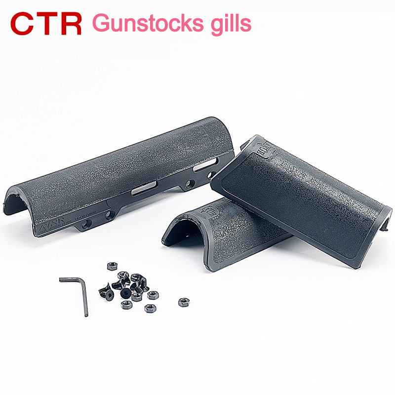 Water bullet Gel ball gun Tactics toy accessories butt of a rifle ctr nylon Free assembly suite Outdoor cs battle