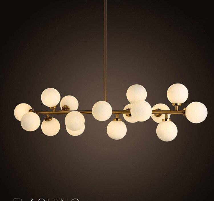 Modern LED Chandelier Light Fitting 16LED lights warm chandelier restaurant Free EMS