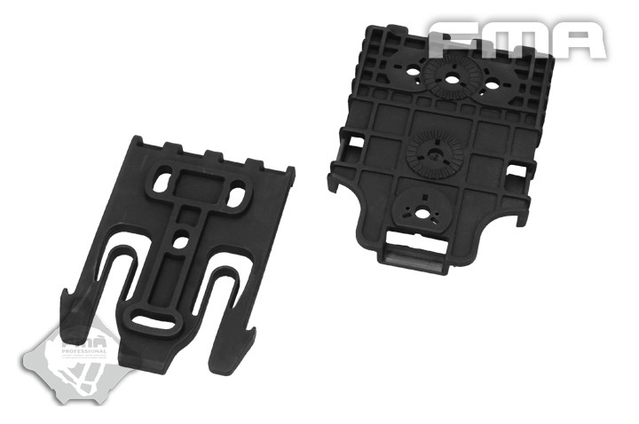 Quick Locking System Speedy FOR Ammo Pounch, shoulders bags partition contact for Pouch Kit BK TB1042 FMA Airsoft Gear