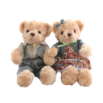 1pc 30cm I Love You Teddy Bear Stuffed Plush Toy   Soft Lovely Gift for Valentine Day Birthday Girls' Brinquedos