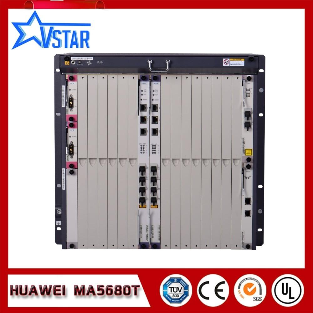 Originele Huawei OLT MA5680T GPON / EPON OLT in optische - Communicatie apparatuur