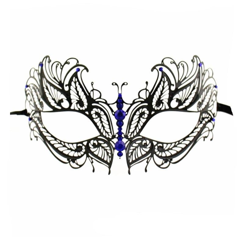 (OCTOBER)  Homecoming Dance  - Page 2 Pretty-Black-font-b-Blue-b-font-Half-Face-Masks-Luxury-Laser-Cut-Metal-font-b