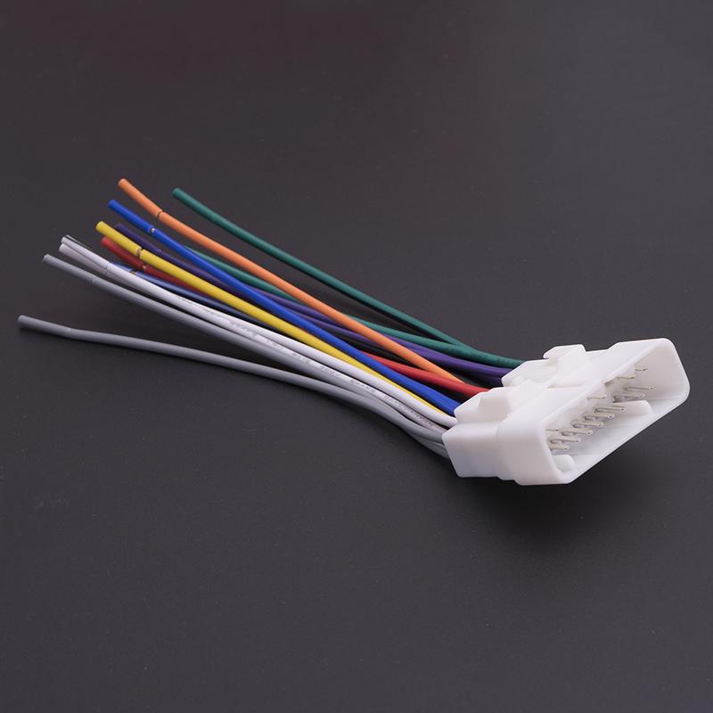 isuzu radio wiring car stereo cd player radio wiring harness wire tail line plugs for isuzu npr radio wiring diagram car stereo cd player radio wiring