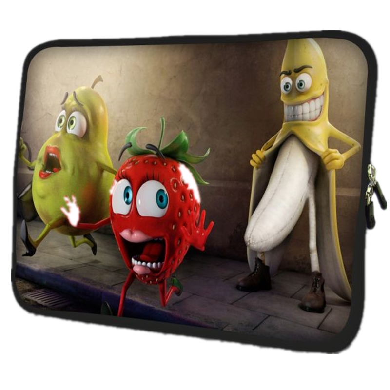 Fruit laptop bag sleeve case Notebook Smart Cover 7 9.7 10.1 12 13 14 15 15.6 17 inch for ipad macbook pro/air acer hp lenovo