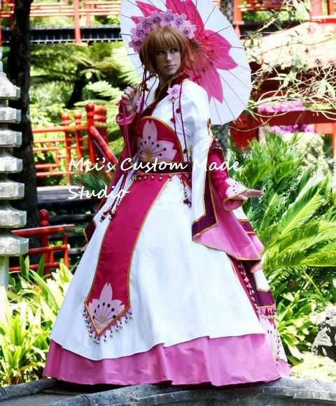 Custom Made ClAMP Card Captor Sakura Costume Japanese ...