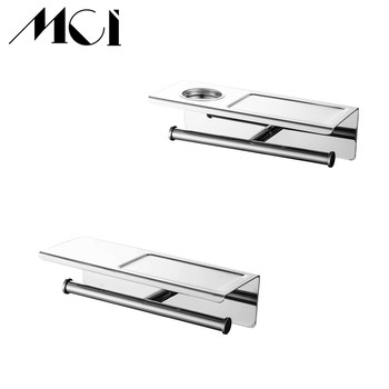 Stainless Steel Bathroom Shelf Luxury Cosmetic Storage Bathroom Shelf Holder Bathroom Accessories Best Price Mci