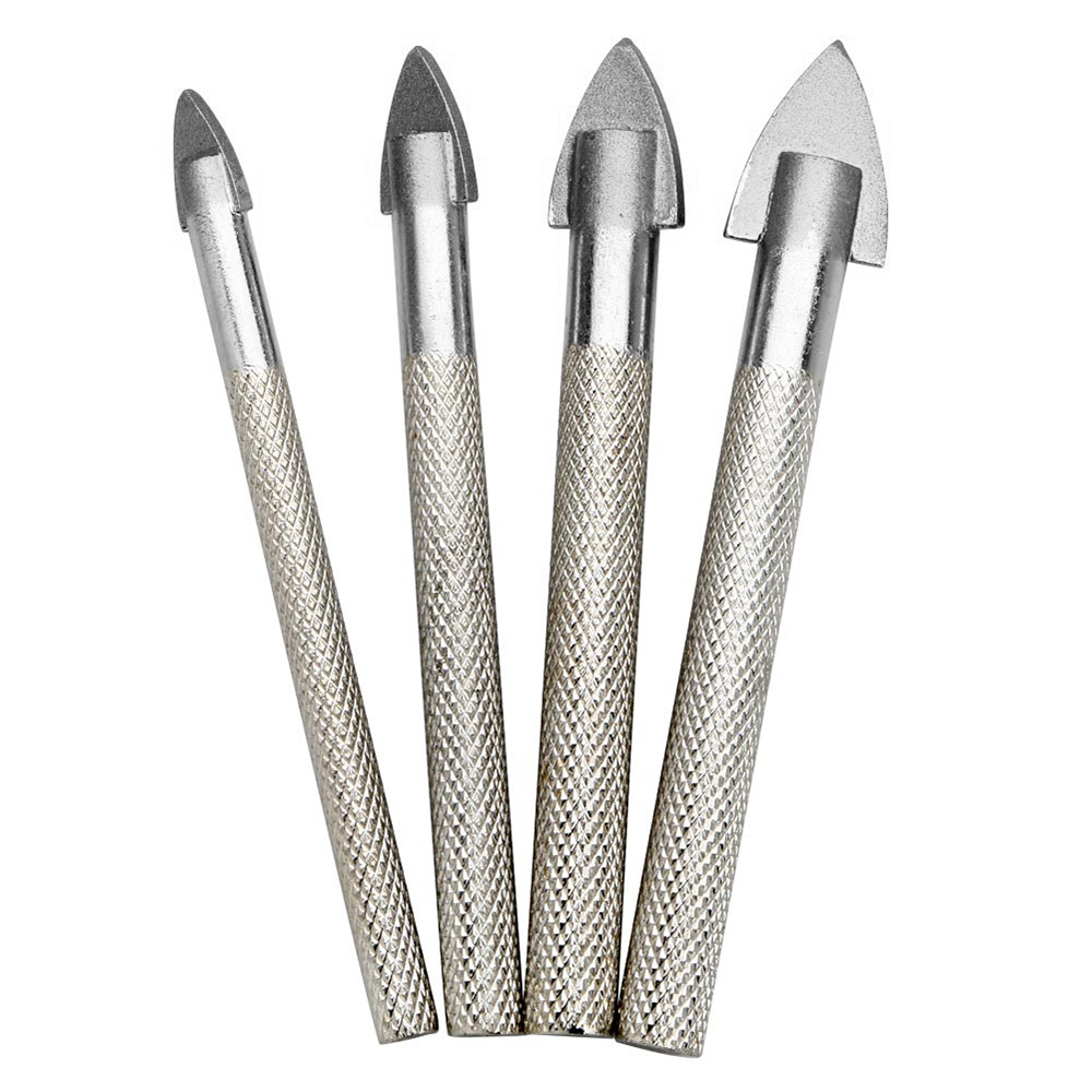 tungsten carbide tip Tile and glass drill bit 6mm professional quality