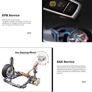 Image 2 - Autel MaxiCheck Pro OBD2 Scanner Car Diagnostic Tool EPB/ABS/SRS/SAS/Airbag/Oil Service Reset/BMS/DPF Batter launch x431 elm327