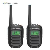 (2pcs) Zastone Mini9+ DMR Mini Digital Walkie Talkie Portable 2W UHF 400 470MHz HF Transceiver CB Radio Comunicador CB Radio