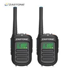 (2 uds) Zastone Mini9 más DMR Digital Mini Walkie Talkie portátil UHF 400 470MHz HF transceptor de Radio CB