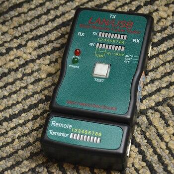 Testeur De Câble Ethernet | CT-168 Multi-modulaire Réseau RJ45 Cat5 RJ11 Ethernet Câble Chaud LAN USB Testeur Plusieurs Interfaces Ligne Maintenance