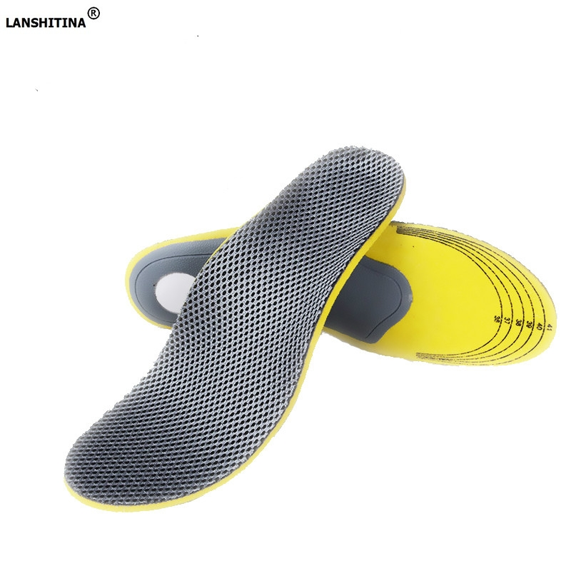 Arch Support Insoles Orthotic Insoles Inserts High Arch Support Pad Eva Comfortable Orthotics Flat Foot Insole Shoe Accessories 2016 1 pair large size orthotic arch support massaging silicone anti slip gel soft sport shoe insole pad for man women