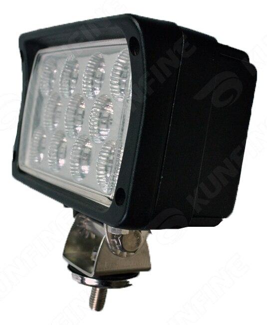 6.0 inch 33W LED Work Light 12V~30V DC LED Driving Offroad Light For Boat Truck Trailer SUV ATV LED Fog Light Waterproof