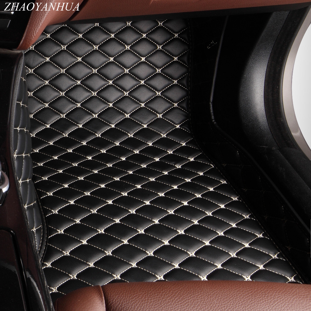 ZHAOYANHUA Car floor mats special for Audi A6 S6 C5 C6 C7 Allroad Avant 5D car styling rugs carpet floor liners(1997-present)ZHAOYANHUA Car floor mats special for Audi A6 S6 C5 C6 C7 Allroad Avant 5D car styling rugs carpet floor liners(1997-present)