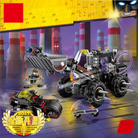 Lepin 07082 584pcs Models Building Toy Building Blocks Compatible With Lego 70915 Super Hero Batman Double