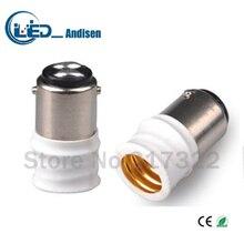 BA15D для E14 адаптер переходник для розетки высокое качество Материал огнестойкий материал E12 гнездо адаптера держатель лампы