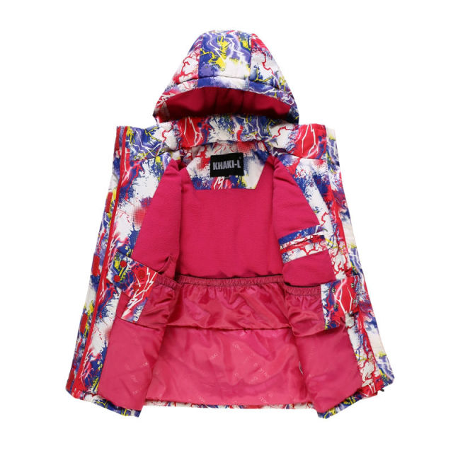 Ski Jacket and Pants For Children Snow Windproof Winter Clothes