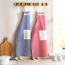 Japanese Cotton apron oil-proof cooking Chef Waiter Apron With Pockets For Man Woman adult Tracksuit Kitchen Tools accessories