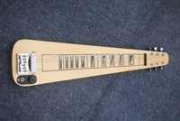 The Factory Customzied 6 String Hawailan Electric Travel Guitar with Original Body and 1 Open Pickups 1461