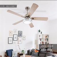 Ceiling Fan light Modern LED adjustable light ceiling fan light iron fashion simple ceiling lamp 42/52 Inch ceiling fan