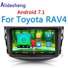 Lecteur DVD Autoradio pour Toyota Rav 4  2007 2008 2009 2010 2011  8 «2din Android 7.1 multimédia Autoradio gps navigation