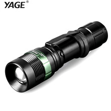 YAGE YG-338C Flashlight XP-G 1000-2000LM Aluminum Zoom CREE LED Flashlight Torch Light for 18650 Rechargeable Battery or AAA