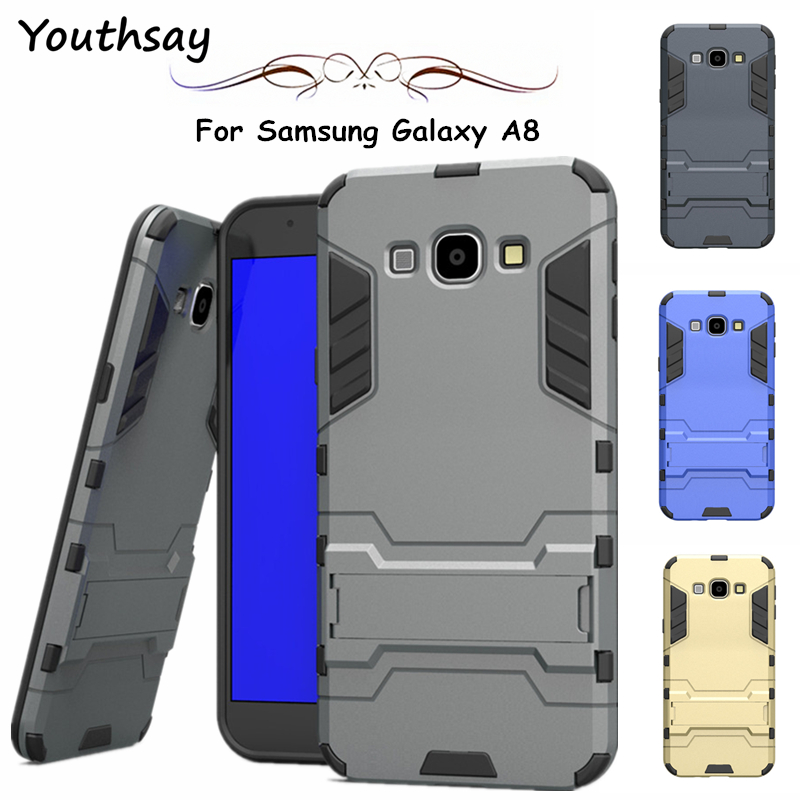 Youthsay For Case <font><b>Samsung</b></font> Galaxy A8 Case A800 A800F <font><b>A8000</b></font> Luxury Robot Cases For <font><b>Samsung</b></font> Galaxy A8 Cover For Fundas <font><b>Samsung</b></font> A8 image