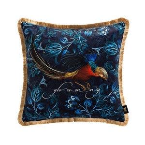 Image 4 - Divano di casa Decorativi Coperte e Plaid Cuscini Luce di lusso retrò golden chicken peluche cuscino del divano copertura copertura dello schienale letto federa