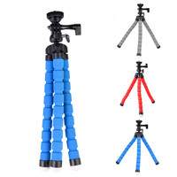 High Quality KT 600S Octopus Style Mini Adjustable Tripod Flexible Multifunctional Tripod Selfie Stick Stand Camera