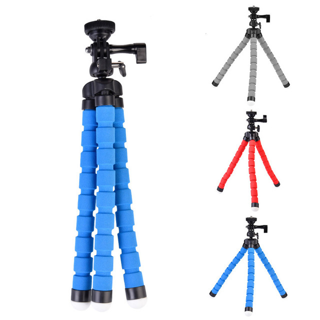 High Quality KT 600S Octopus Style Mini Adjustable Tripod Flexible  Multifunctional Tripod Selfie Stick Stand