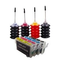 리필 잉크 키트 T0711   T0714 스타일러스 S20 S21 SX100 SX110 SX105 SX115 SX200 SX205 SX209 SX210 프린터