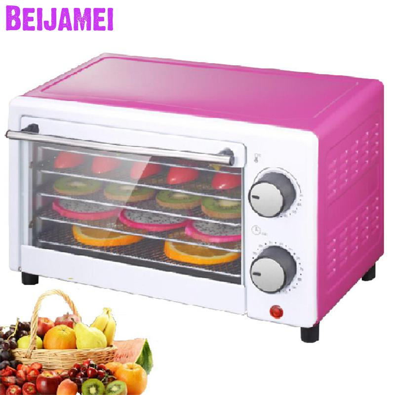 BEIJAMEI 5 Trays Home food dehydrator cabinet electric fruit dryer drying household dry fruit vegetable machineBEIJAMEI 5 Trays Home food dehydrator cabinet electric fruit dryer drying household dry fruit vegetable machine