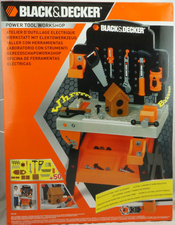 1bad12f8d HSB toys BLACK & DECKER Junior Power Tool Workshop 50+ tools&accessories  real working-in Learning Machines from Toys & Hobbies on Aliexpress.com |  Alibaba ...