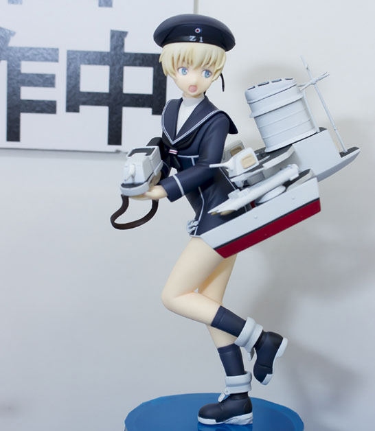 цены Japanese original anime figure Kantai Collection SPM Z1 action figure collectible model toys for boys