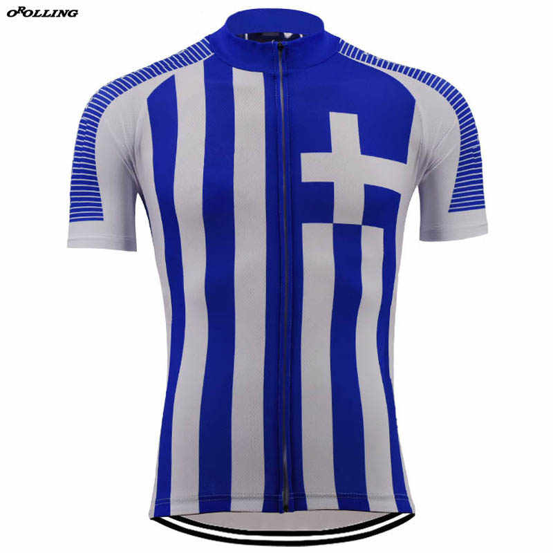 official photos 1e92b 4bd55 New Classical Retro NATIONAL GREECE Team Maillot Cycling ...