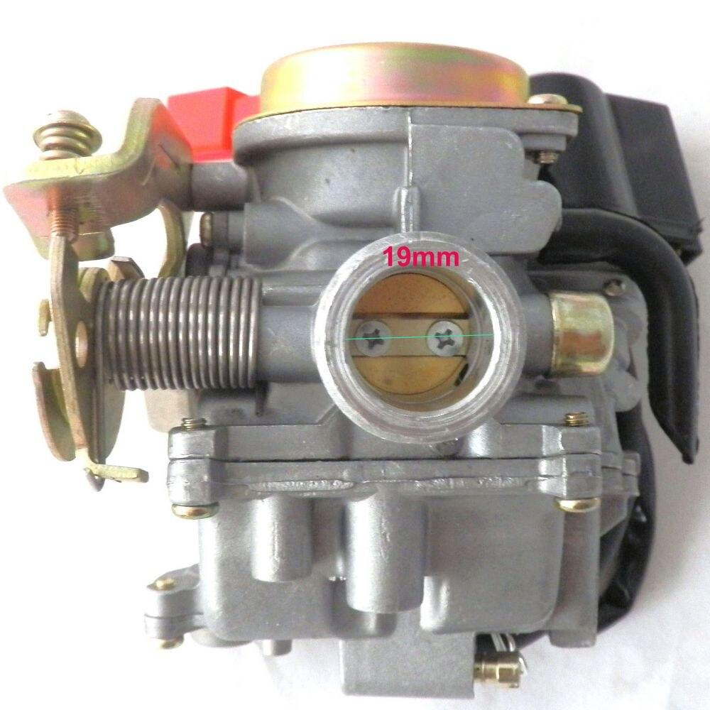 Moped Carburetor Parts : Pd scooter carb carburetor cc chinese parts